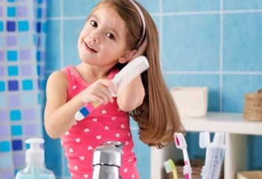Child skin and hair care